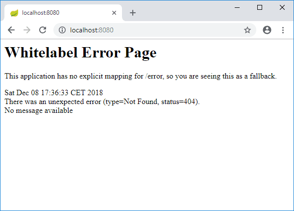 jsf welcome page redirect error