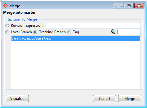 git gui local merge