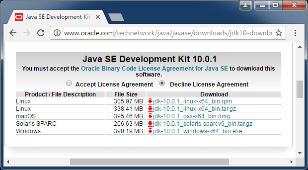 Java - Download and Install JDK 10 on Windows - CodeNotFound com