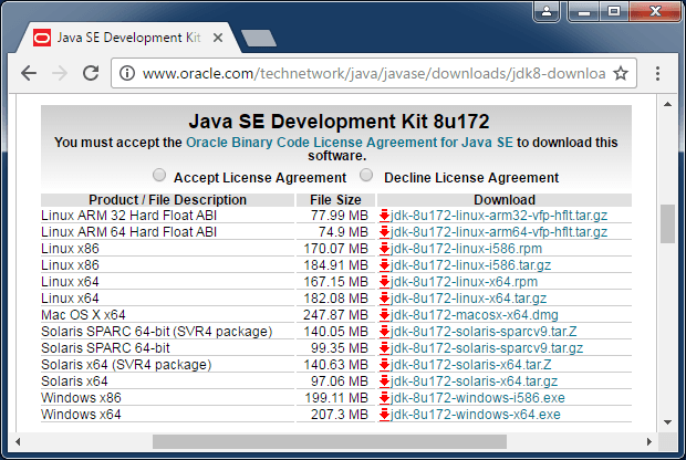 java 1.8 0 161 download 64 bit