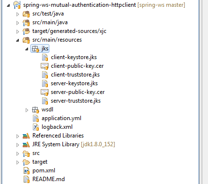 Spring WS - Mutual Authentication Example - CodeNotFound com