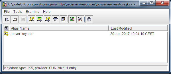 Spring WS - HTTPS Client-Server Example - CodeNotFound com